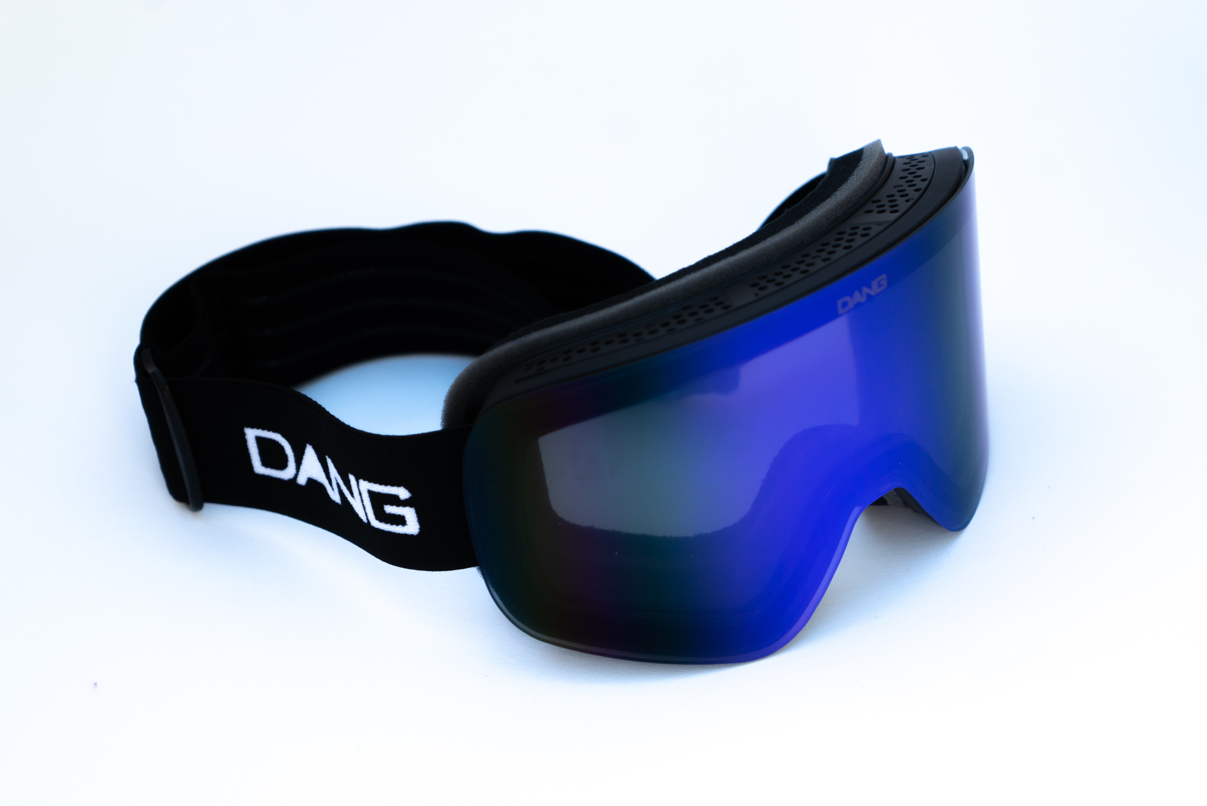 8d707cb5f6f DANG SNOW BLACK X ULTRA BLUE MIRROR   TWENTY20 (+bonus clear lens)